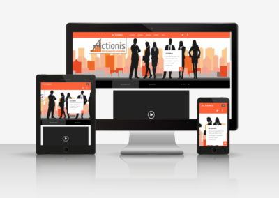 Mockup site web